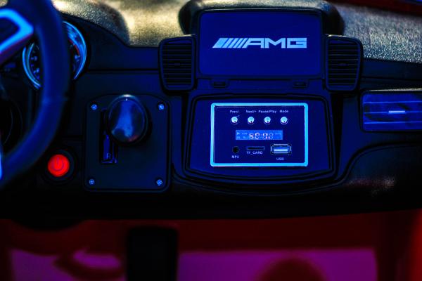 Masinuta electrica Mercedes GLS63 AMG 2x4 12V STANDARD #Rosu 6