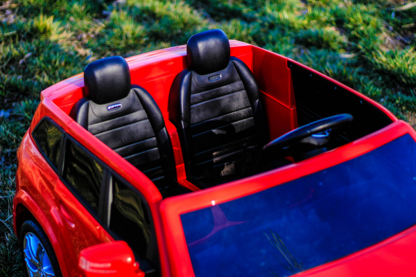 Masinuta electrica Mercedes GLS63 AMG 2x4 12V STANDARD #Rosu 4