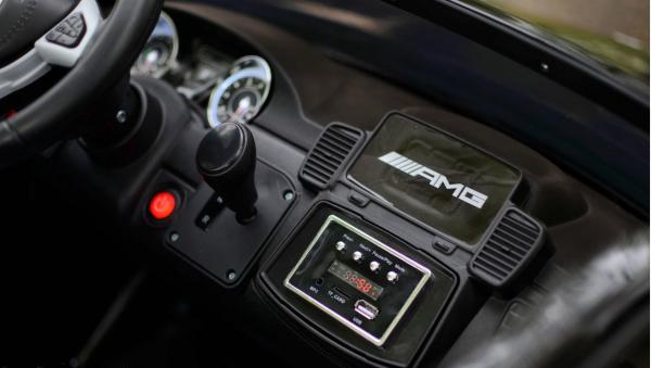 Masinuta electrica Mercedes GLS63 AMG 4x4 24V STANDARD #Negru 4
