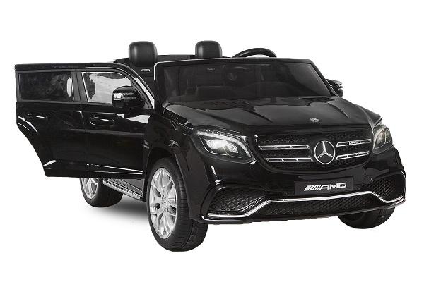 Masinuta electrica Mercedes GLS63 AMG 4x4 24V STANDARD #Negru [0]