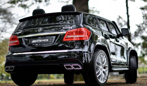 Masinuta electrica Mercedes GLS63 AMG 4x4 24V STANDARD #Negru 5