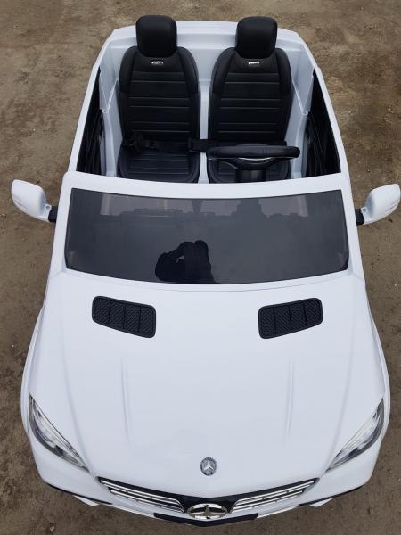 Masinuta electrica Mercedes GLS63 AMG 4x4 24V STANDARD #Alb 7