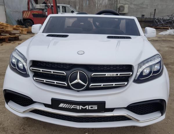 Masinuta electrica Mercedes GLS63 AMG 4x4 24V STANDARD #Alb 8