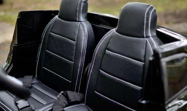 Masinuta electrica Mercedes GLS63 AMG 4x4 PREMIUM 24V #Alb 1