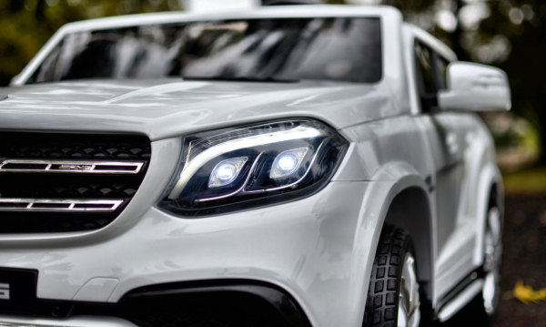 Masinuta electrica Mercedes GLS63 AMG 4x4 PREMIUM 24V #Alb 4