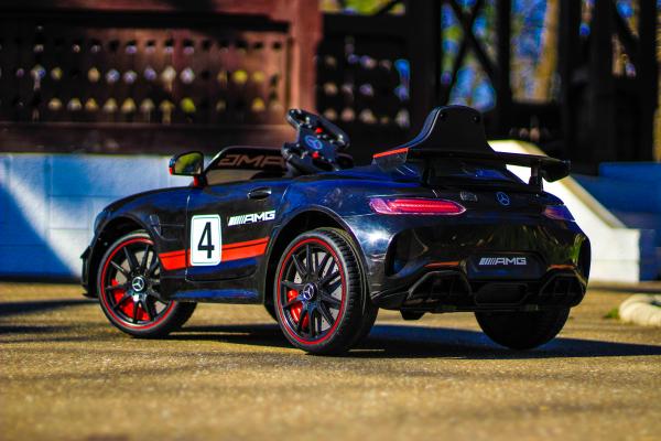 Masinuta electrica Mercedes GT-R 2x25W STANDARD #Negru 4