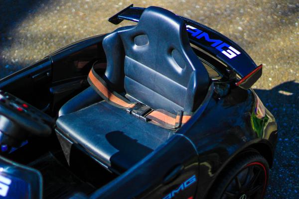 Masinuta electrica Mercedes GT-R 2x25W STANDARD #Negru 3