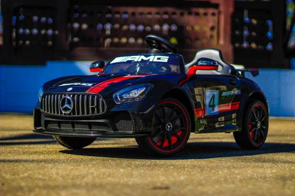 Masinuta electrica Mercedes GT-R 2x25W STANDARD #Negru 2