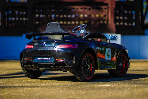 Masinuta electrica Mercedes GT-R 2x25W STANDARD #Negru 6