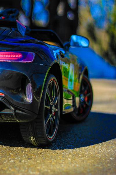 Masinuta electrica pentru copii 2-5 ani Mercedes GT-R 8