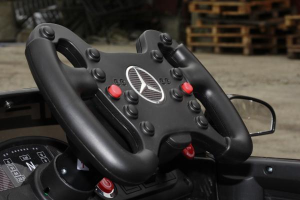 Masinuta electrica Mercedes GT-R 2x25W STANDARD #Negru 11