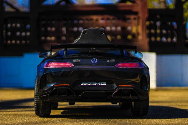 Masinuta electrica Mercedes GT-R 2x25W STANDARD #Negru 5