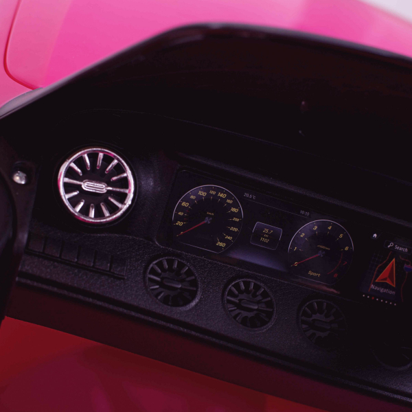 Masinuta electrica Mercedes CLS350 50W 12V PREMIUM #Roz 5