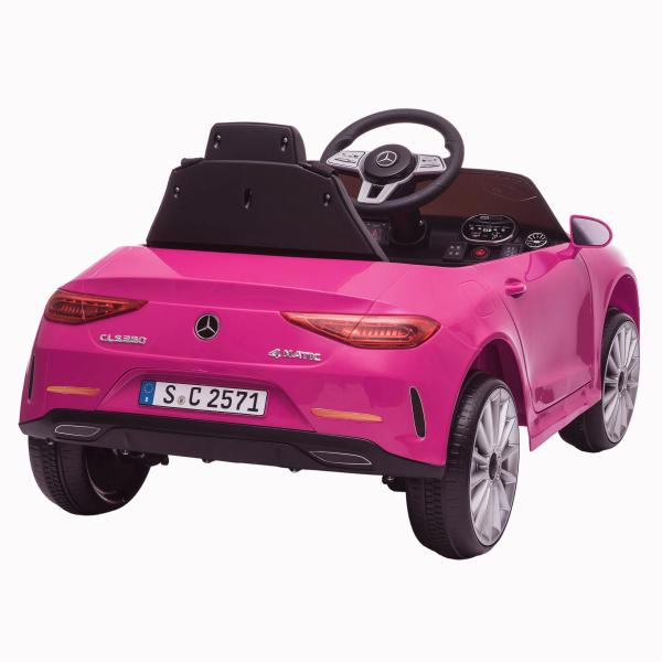 Masinuta electrica Mercedes CLS350 50W 12V PREMIUM #Roz 1