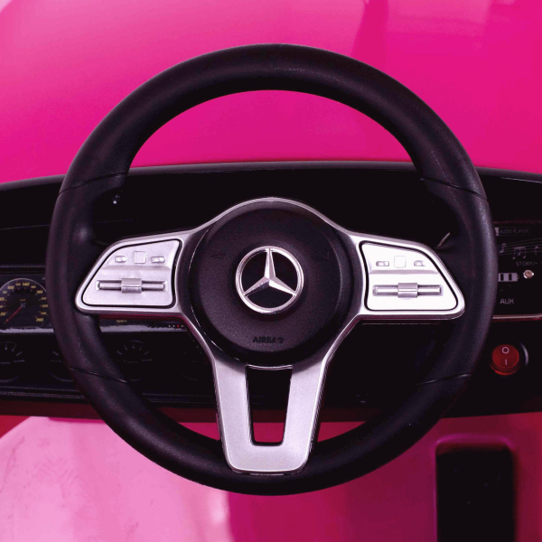 Masinuta electrica Mercedes CLS350 50W 12V PREMIUM #Roz 3
