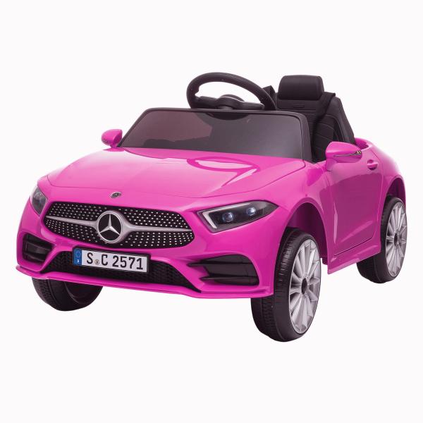 Masinuta electrica Mercedes CLS350 50W 12V PREMIUM #Roz 0