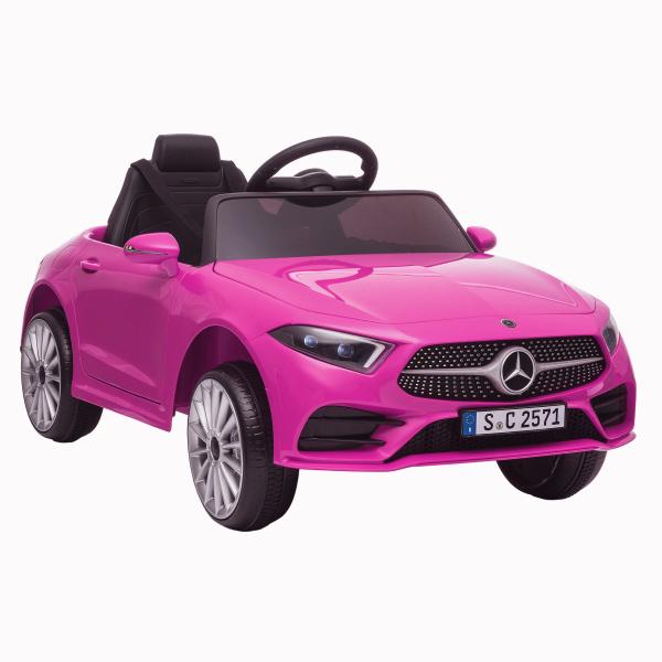 Masinuta electrica Mercedes CLS350 50W 12V PREMIUM #Roz 4