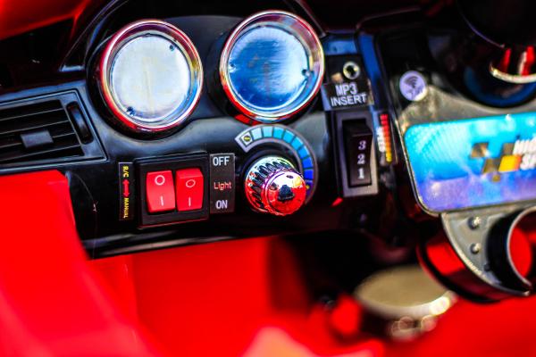 Masinuta electrica rosie Mercedes ML, copii 2-4 ani 9