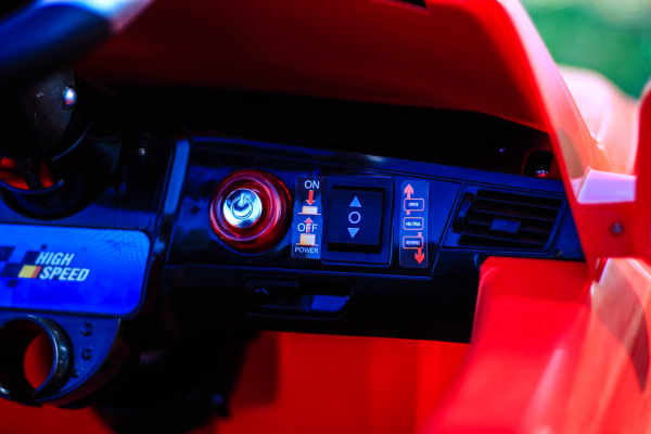 Masinuta electrica rosie Mercedes ML, copii 2-4 ani 8