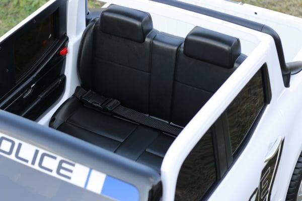 Masinuta electrica Mercedes POLICE X-Class 4x4 STANDARD #Alb 11