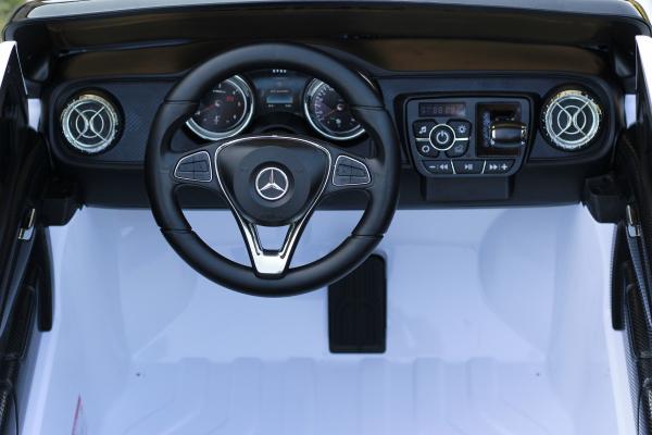 Masinuta electrica Mercedes POLICE X-Class 4x4 STANDARD #Alb 10