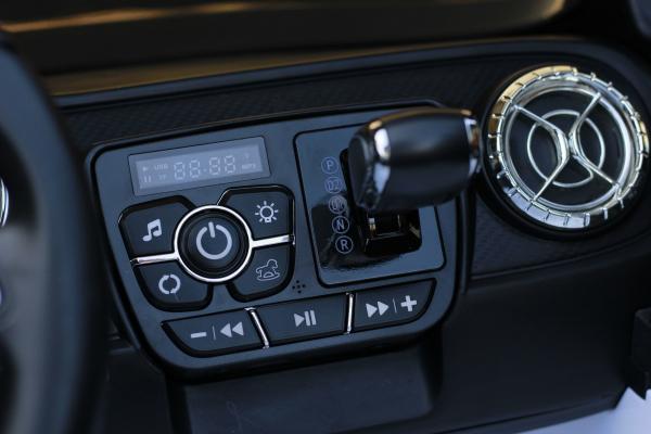 Masinuta electrica Mercedes POLICE X-Class 4x4 STANDARD #Alb 9