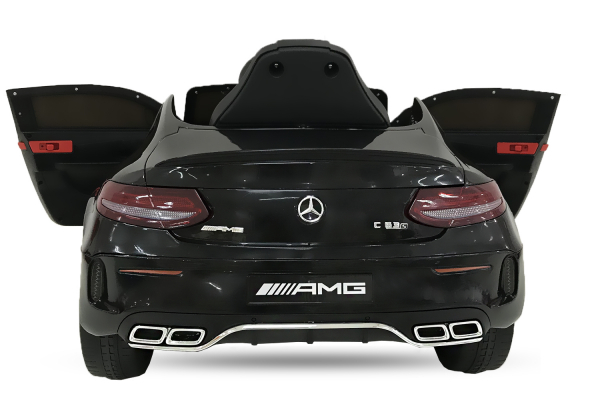 Masinuta electrica Mercedes C63 12V STANDARD #Negru 1