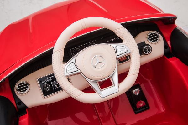 Masinuta electrica Mercedes S650 MAYBACH PREMIUM #ROSU 5
