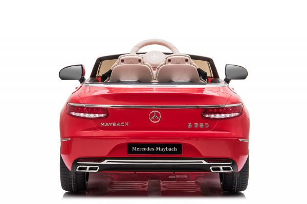 Masinuta electrica Mercedes S650 MAYBACH PREMIUM #ROSU 3