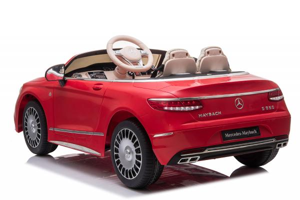 Masinuta electrica Mercedes S650 MAYBACH PREMIUM #ROSU 2