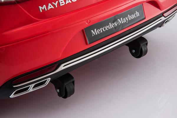 Masinuta electrica Mercedes S650 MAYBACH PREMIUM #Alb 5