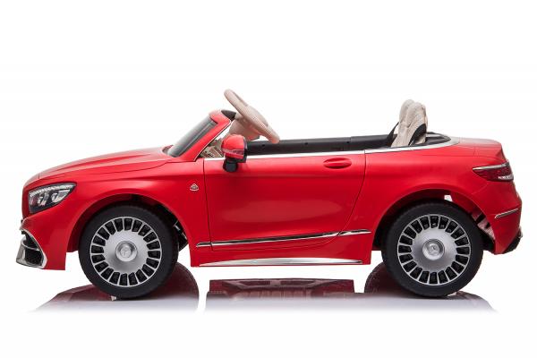 Masinuta electrica Mercedes S650 MAYBACH PREMIUM #ROSU 1