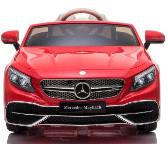 Masinuta electrica Mercedes S650 MAYBACH PREMIUM #ROSU 0