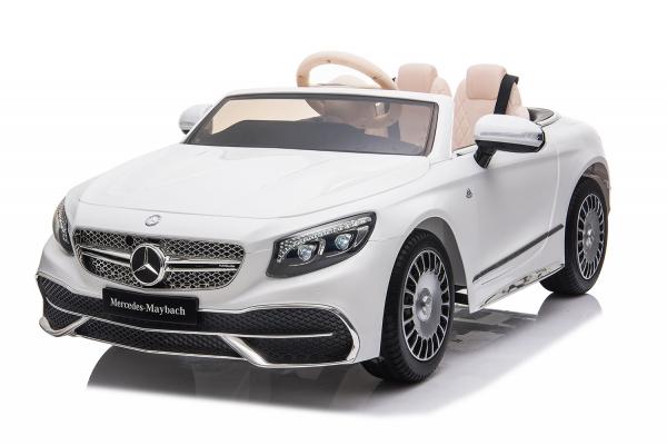 Masinuta electrica Mercedes S650 MAYBACH PREMIUM #Alb 0