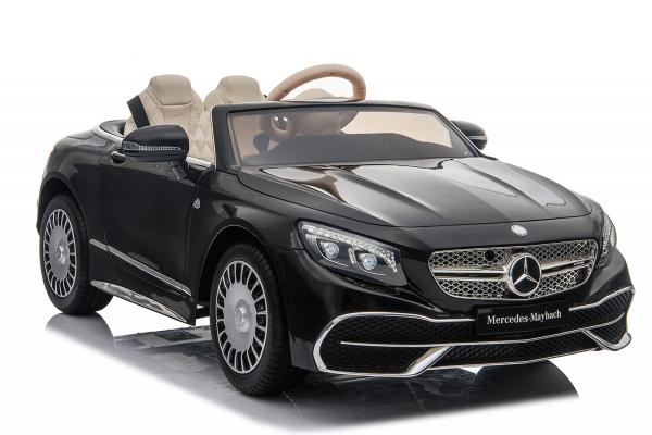 Masinuta electrica Mercedes S650 MAYBACH PREMIUM #Negru 0