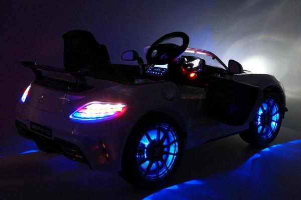 Masinuta electrica Mercedes SLS STANDARD 2x 25W 12V #Gri 7