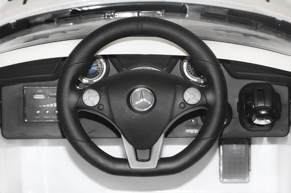 Masinuta electrica Mercedes SLS STANDARD 2x 25W 12V #Gri 1