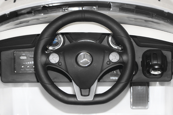 Masinuta electrica Mercedes SLS STANDARD 2x 25W 12V #Alb 5