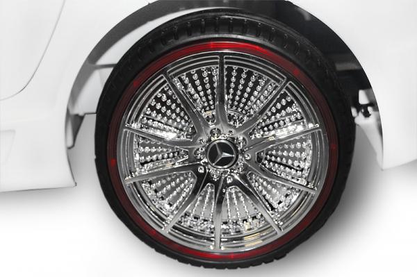 Masinuta electrica Mercedes SLS STANDARD 2x 25W 12V #Alb 7
