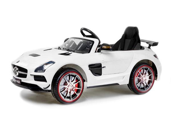Masinuta electrica Mercedes SLS STANDARD 2x 25W 12V #Alb 0