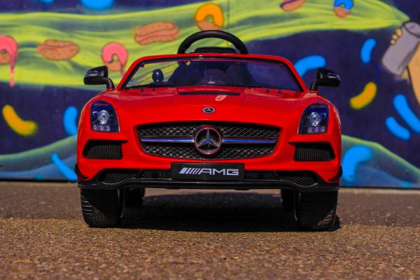 Masinuta electrica Mercedes SLS STANDARD 2x 25W 12V # Rosu 1