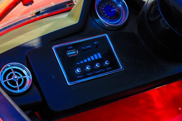 Masinuta electrica Mercedes SLS STANDARD 2x 25W 12V # Rosu 9