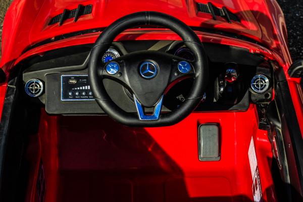 Masinuta electrica Mercedes SLS STANDARD 2x 25W 12V # Rosu 8