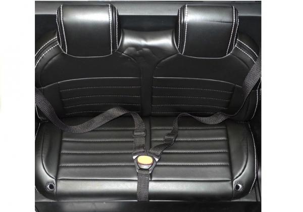 Masinuta electrica Mercedes UNIMOG 4x4 PREMIUM #Alb 16
