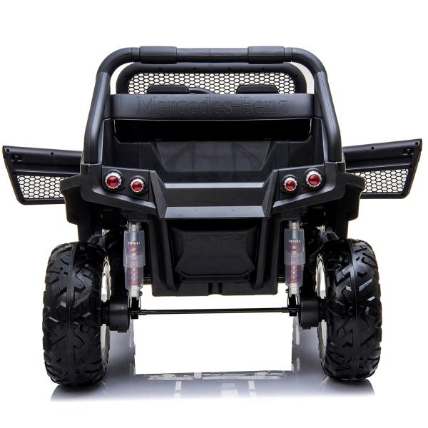 Masinuta electrica Mercedes UNIMOG 4x4 PREMIUM #Negru 6