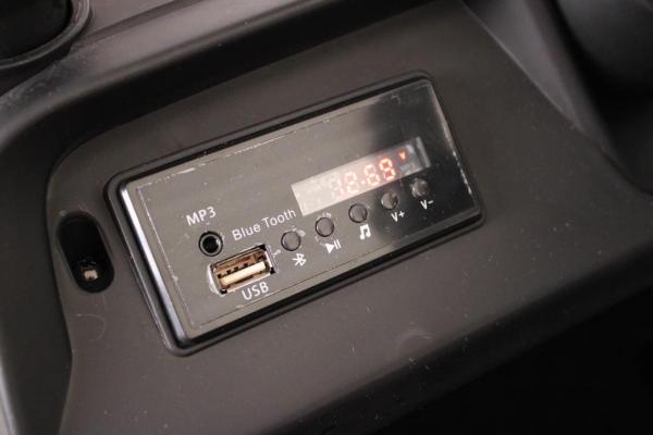 Masinuta electrica Mercedes UNIMOG 4x4 PREMIUM #Negru 7
