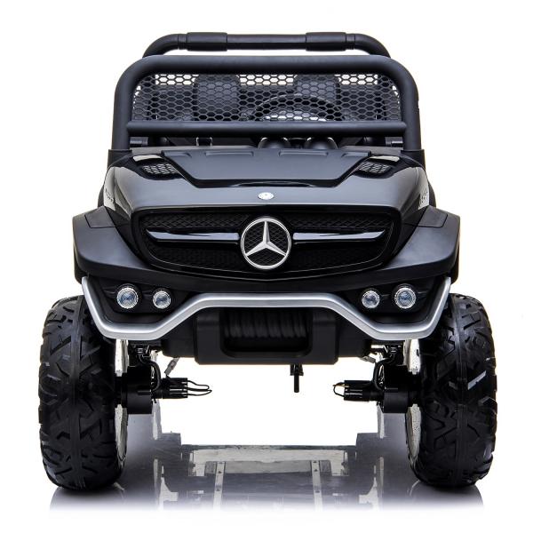 Masinuta electrica Mercedes UNIMOG 4x4 PREMIUM #Negru 0