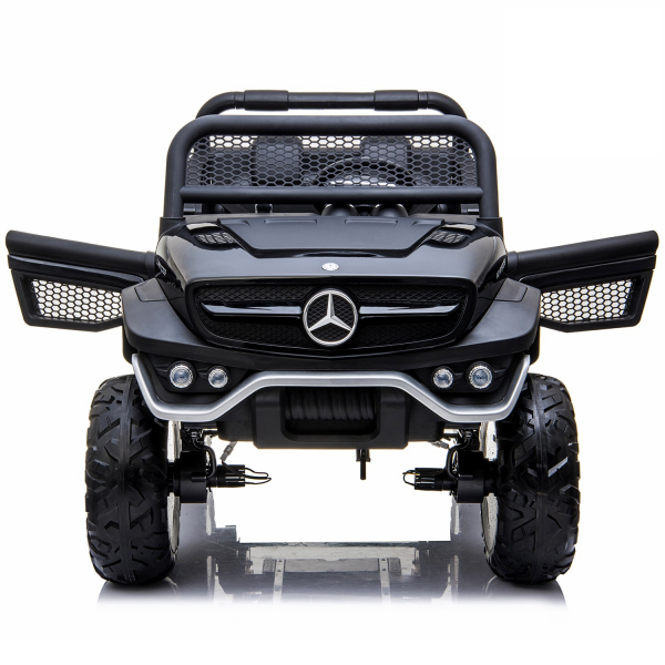 Masinuta electrica Mercedes UNIMOG 4x4 PREMIUM #Negru 4