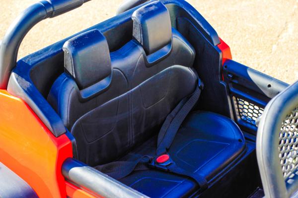 Masinuta electrica Mercedes UNIMOG STANDARD 2x45W 12V #Rosu 6