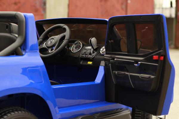 Masinuta electrica Mercedes X-Class 2x45W STANDARD #Albastru 9